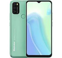 Смартфон Blackview A70 Green, 3/32Gb, 2sim, экран 6.52'' IPS, 4G, 13+2+2/5 Мп, 5380mAh, Android 11