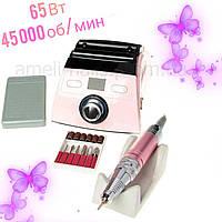 Машинка/Фрезер для маникюра и педикюра Nail Master ZS-710 45 000 об/мин, 65Вт(Аппаратный маникюр ногтей)