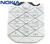 Клавиатура для Nokia 7500, оригинал (белая)