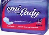 Прокладки гигиенические Emi Lady Super (10шт/уп)