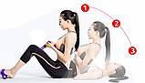Спортивный Фитнес тренажер для мышц рук ног живота Pull Reducer Синий, фото 6