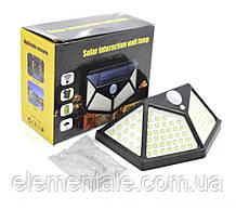 Світлодіодний LED Вуличний ліхтар з сонячною батареєю
