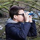 Бінокль Bresser Topas 10x25 Blue, фото 5