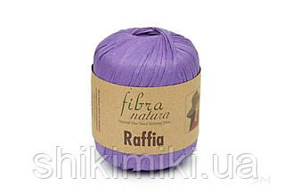 Пряжа Raffia Fibranatura, цвет Фиолетовый