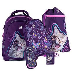 Школьный набор Kite Education Рюкзак 38x28x16 18 л + пенал + сумка для обуви + кошелек (SET_K21-700M(2p)-3)