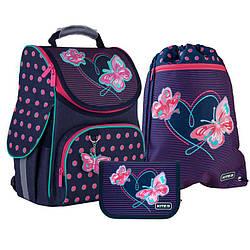 Школьный набор Kite Education Butterflies  (SET_K21-501S-3)