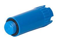 Заглушка пластик 1/2' синяя длинная
