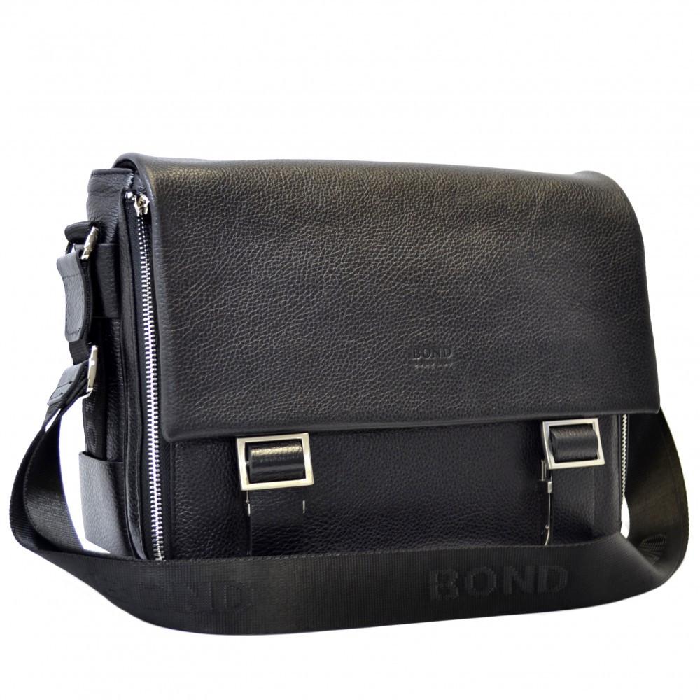 Кожаная мужская сумка для документов