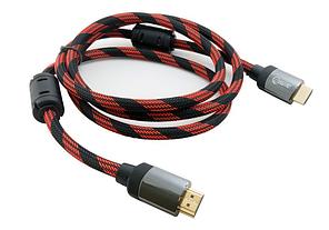 Кабель Extradigital HDMI to HDMI, 1.5 м, v 2.0, 28 AWG, Gold, Nylon, Hi-Speed (KBH1633)