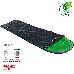 Спальный мешок High Peak Easy Travel/+5°C Anthra/Green Left (20068)