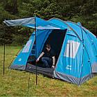 Палатка Highlander Elm 4 Teal, фото 3