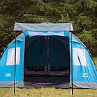 Палатка Highlander Elm 4 Teal, фото 4