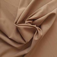 Габардин светло-коричневый, ш.150 см, фото 1