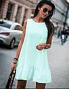 """Молодіжний літній жіноча сукня вільного крою """"Бенні"""", фото 3"""