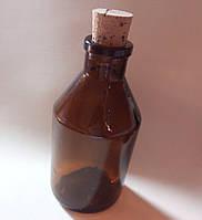 Пляшечка скло з пробкою 85х40 мм 50 мл