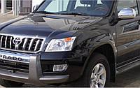 Реснички на фары Toyota L/C Prado 120 (2002-2009)