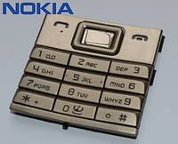 Клавиатура для Nokia 8800 Sirocco, оригинал (золотистая)