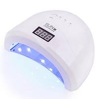 LED+UV лампа для маникюра SUN 1S, 48 Вт, White