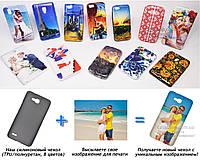 Печать на чехле для Huawei Honor 3X Pro Ascend G750 (Cиликон/TPU)