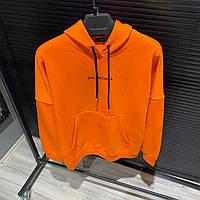 Худи Balenciaga Оранжевое