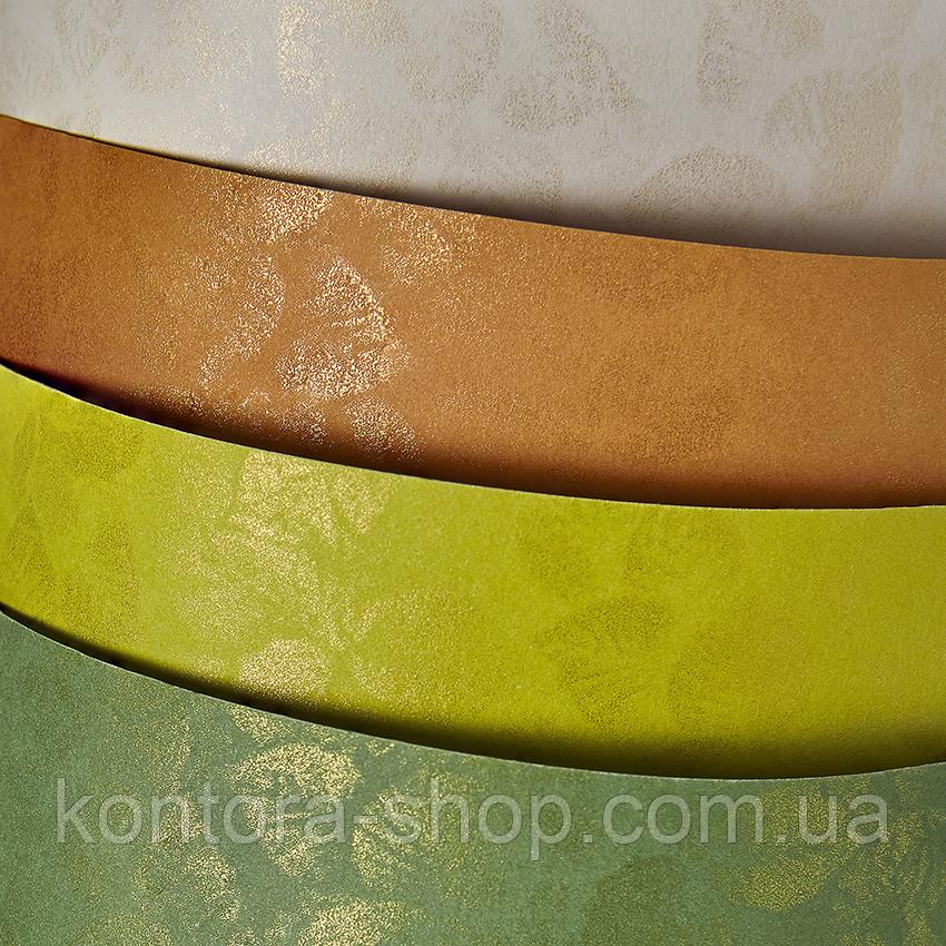 Картон дизайнерский Galeria Papieru Leaves cream, 220 г/м² (20 шт.)