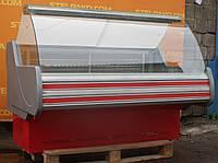 Низькотемпературна вітрина «Технохолод Невада» 1.6 м. (Україна), морозильна, Б/в