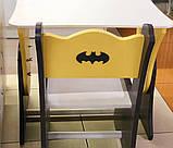 """Комплект для дитини стіл, 1 стілець """"Бетмен"""", фото 3"""