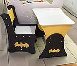 """Комплект для дитини стіл, 1 стілець """"Бетмен"""", фото 2"""