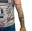 Эластичный тату рукав Мужчина с девушкой №3 34х9 см, нейлоновый рукав тату | нарукавники з татуюваннями (GK), фото 5