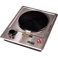 Электроплита настольная бытовая DSP KD-4046, компактная кухонная мощная плита одноконфорочная дисковая