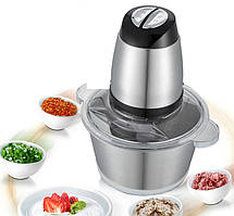 Измельчитель для мяса, овощей и фруктов для кухни, электрический блендер двойной, чоппер DSP KM4021