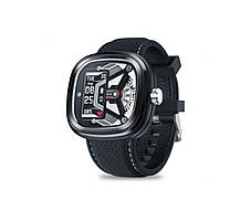 Практичные спортивные смарт мужские часы, Гибридные умные часы Smart Watch Max Robotics Hybrid 2