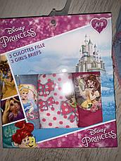 Трусики для дівчаток оптом Princess, Disney, 2/3-6/8 рр, фото 2