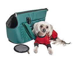 Сумка-переноска для маленьких собак до 5 кг размер М Однотонная