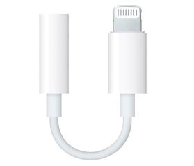 Адаптер Apple Lightning - 3.5 mm White (MMX62ZM / A)