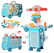 Ігровий набір доктор валіза-машина