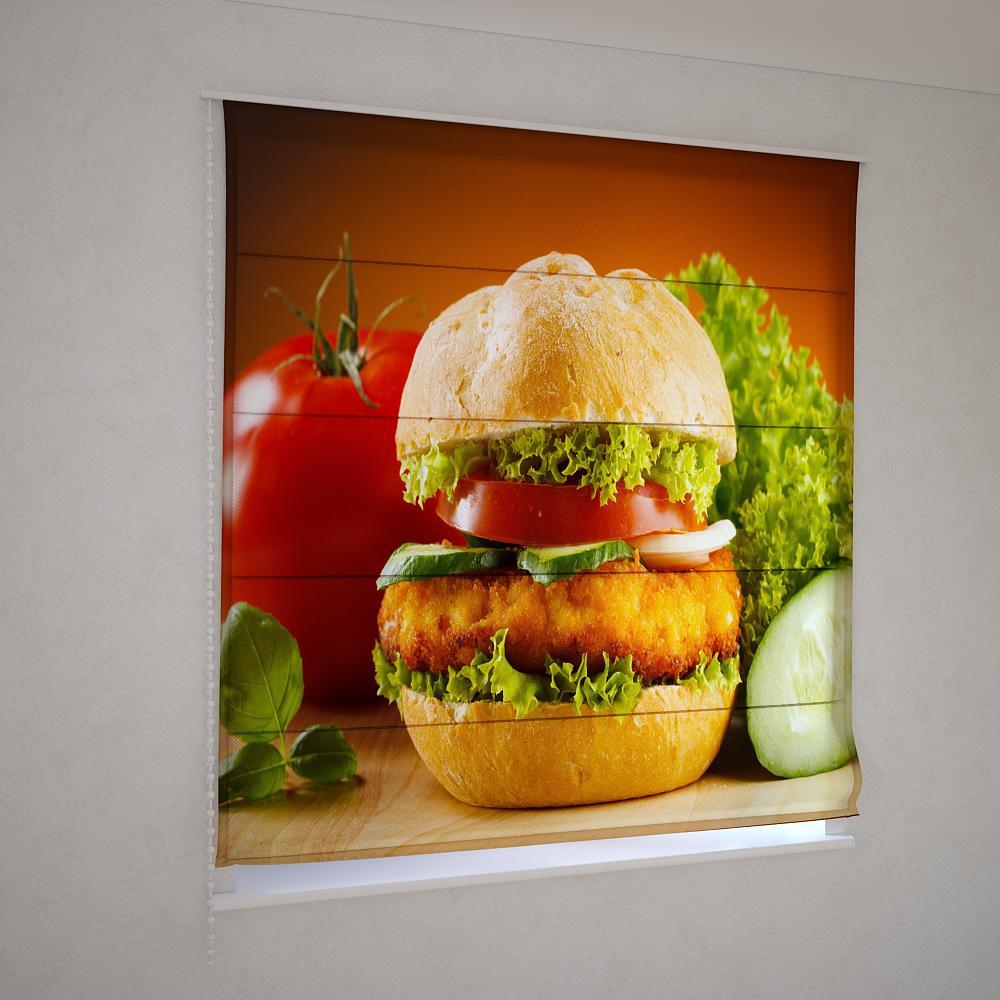 Римські штори гамбургер