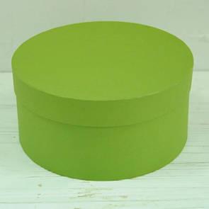Шляпная круглая коробка d= 20 h=10 см