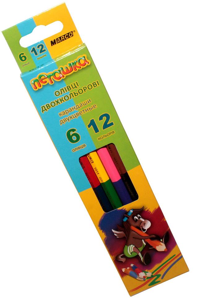 Набор из 6цветов Диаметр грифеля 2,9 мм Упаковка 24наборов в карт. упаковке, 20 упаковок в коробке.