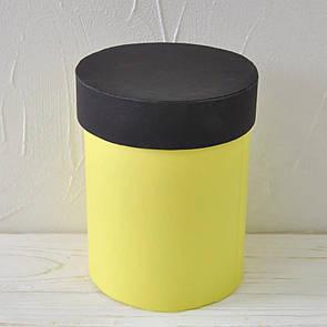 Шляпная круглая коробка d= 11 h=15 см