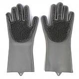 Перчатки для мытья Super Gloves №21 в пакете, фото 5
