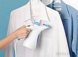 Ручний відпарювач для одягу Аврора A7 Білий, фото 4