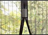 Антимоскітна магнітна штора Magic Mesh, москітна сітка Magic Mesh на магнітах, фіранка Magic Mesh від мух, фото 2