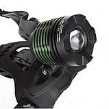 Налобный фонарь BL POLICE 2188B 158000W T6 фонарик 1050 Lumen, фото 2