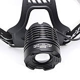 Налобный фонарь BL POLICE 2188B 158000W T6 фонарик 1050 Lumen, фото 3
