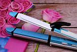 Утюжок - плойка для волос 3 в 1 Gemei GM-2921 для локонов / Выпрямитель / Гофре / Стайлер, фото 9