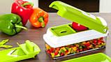 Овочерізка Найсер Дайсер, Nicer Dicer Plus подрібнювач продуктів / Машинка для салатів З КНИГОЮ РЕЦЕПТІВ, фото 9
