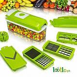 Овочерізка Найсер Дайсер, Nicer Dicer Plus подрібнювач продуктів / Машинка для салатів З КНИГОЮ РЕЦЕПТІВ, фото 10