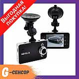 Автомобільний відеореєстратор DVR K6000 Full HD DVR 1080p / Реєстратор DVR 6000 FullHD / Відео-реєстратор, фото 2