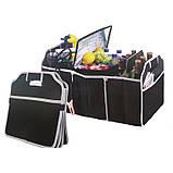 """Сумка - органайзер в багажник автомобиля. Органайзер для авто """"Car Boot Organiser""""., фото 7"""